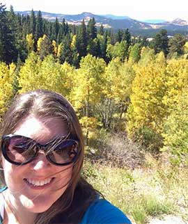Kylie Menagh-Johnson in Colorado
