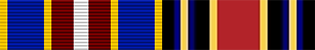 ribbons of the Public Health Service Commissioned Corps which are worn by Surgeon Generals