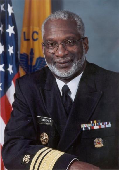Dr. David Satcher in uniform