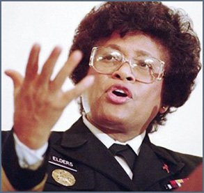 Picture of Surgeon General Joycelyn Elders in the 1990s