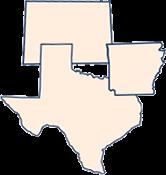 Texas Arkansas Colorado icon collage