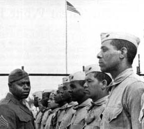WW2 African-American recruits