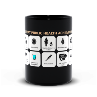 10 great public health achievements coffee mug 15 oz